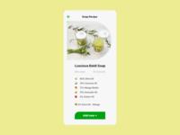 040 Recipe 2020 visualdesign ui dailyui uidesign recipe soap