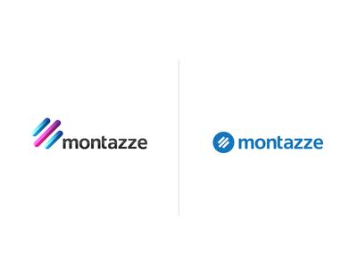 Montazze Old and New Logo montazze logo branding