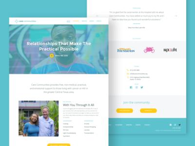 Care Communities Website