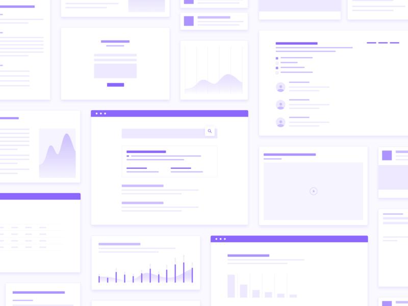 Digital Marketing Illustrations digitalmarketing marketing website purple illustrations ui