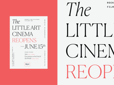 Little Art Cinema Poster