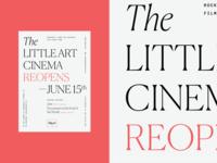 Little Art Cinema Poster