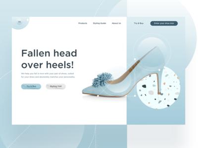 Head over heels!