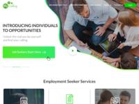 Seeker Landing Page UI Design