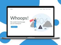 UI / UX 404 Design