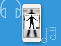 UI / UX Music Player Design