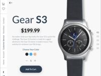 UI / UX Single Product Design
