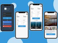 UI / UX Booking Hotel Design