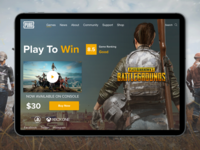 Pubg Game UI Design