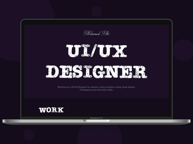 Drak Portfolio portfolio dark portoflio ux creative webdesign landign page ui uidesign design ui ux designer ui ux design ux design creative design