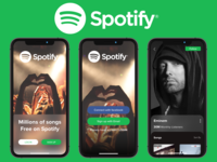 Redesign Spotify Concept