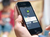 Social App Login Page