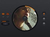 CD Player UI Kit