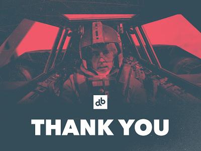 Thank You! halloween devbridgegroup db devbridge dribbblemeetup chicago dribbble chicagomeetup chicagodribbble chicago meetup star wars thank you