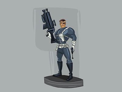 Nick Fury  illustration character design