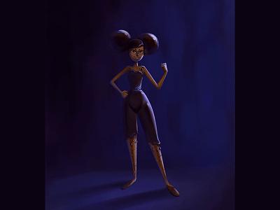 Ninja Profiterole illustration design character