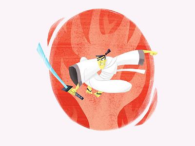 Samuraï Jack design character