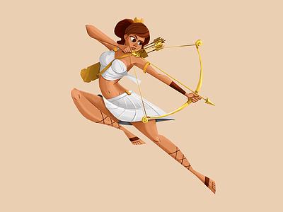 Artemis design character