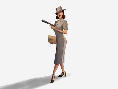 LADY S - Secret Agent  secret