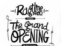 Ragtime grandopening