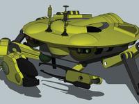 3D: RoboCrab RC34