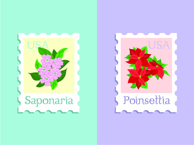 Blossom Font Stamps
