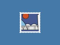 Igreja da Pampulha • City Stamps Project #2