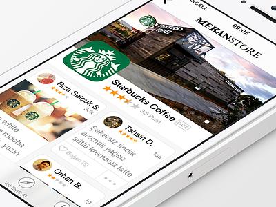 MekanStore App - free .sketch download sketch freebie free download psddd mobile app iphone flat review perspective freebies