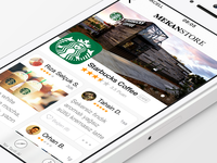 MekanStore App - free .sketch download