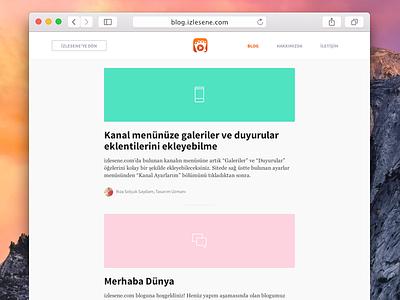 izlesene blog blog design sketch typography interface responsive clean simple flat sass html5 css3