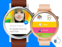 Messenger Android Wear messaging wearable watch android wear android