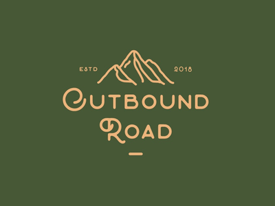 Outbound Road wear brand logo backpack