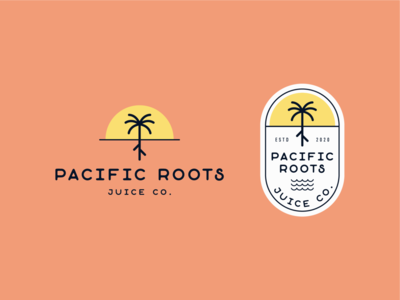 Pacific Roots Juice Co. Logo
