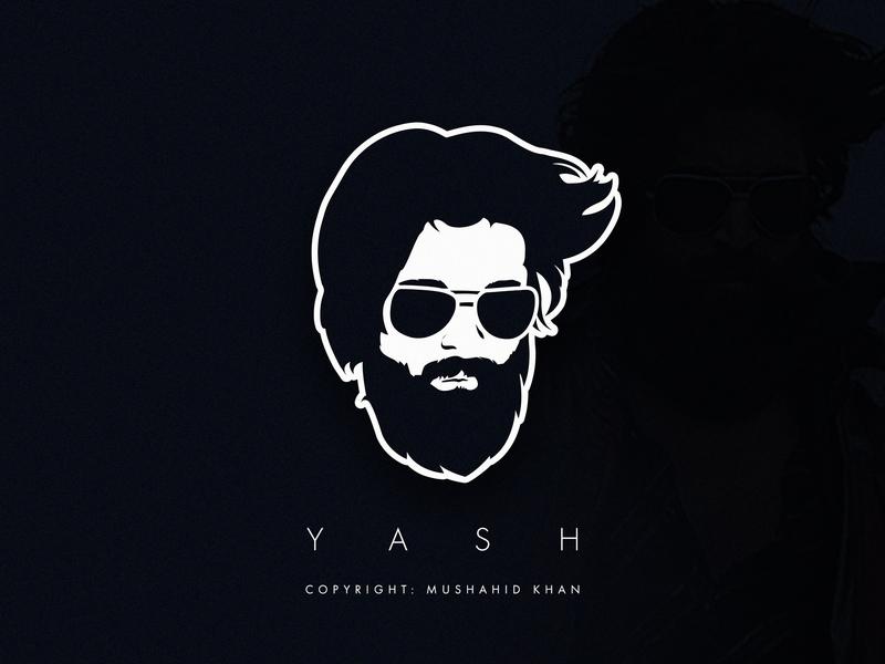 Kgf Hero Yash By Mushahid On Dribbble