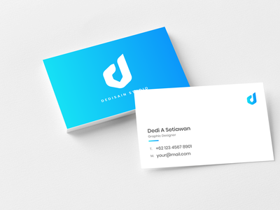 Corporate Business Card Clean clean ui easy to use simple clean modern corporate design businesscard