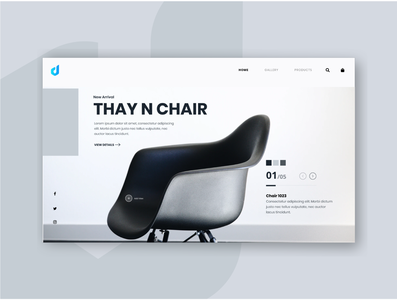 "Webstore Concept ""THAY N CHAIR""."