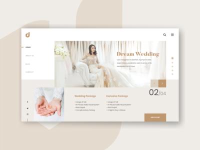 Dream Wedding Website