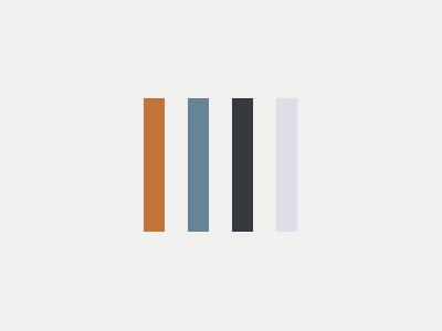 Palette: Newark  aerial tones earth pallete color study color