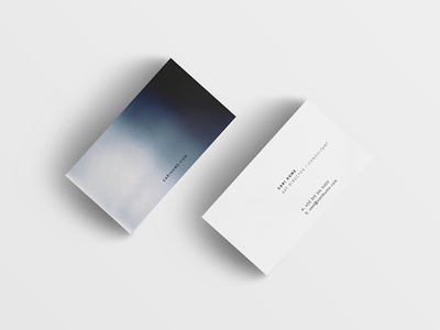 Personal Business Cards personal business cards film photography design