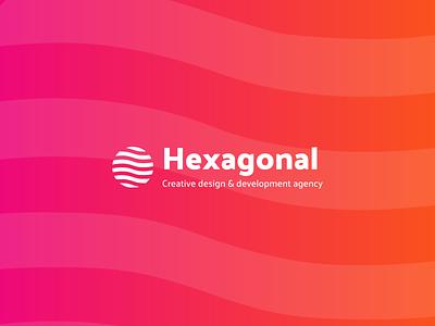 Hexagonal - 2020 Rebranding illustration branding typography gradient design logo rebrand hexa hexagonal
