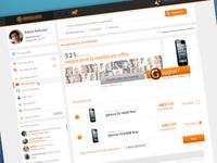 Shop Webpage Design