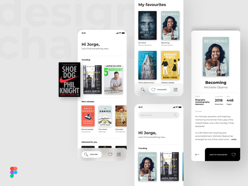 Design Challenge - Figma Prototype download prototype figma interfaces minimal mobile interface app web ui design