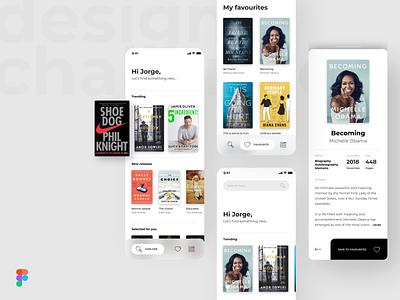 Design Challenge - Figma Prototype download prototype figma interfaces minimal mobile interface app web ui design