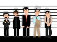 The Usual Suspects - Poster