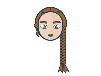 Sansa #GOT 2d design illustration got