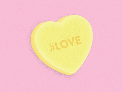 Candy Hearts: #Love