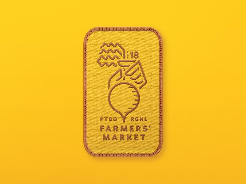 Farmers' Market Logo - Four Season Patch by Hatch Creative