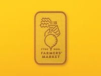 Farmers' Market Logo - Four Season Patch
