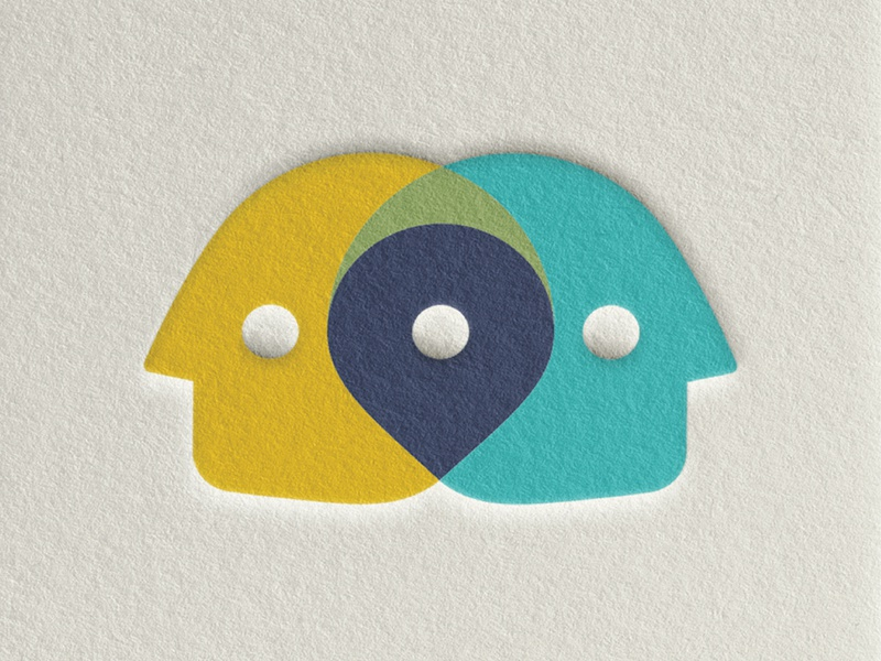 Smart City Readiness Project logodesign logo design identity brand design brand city location face head mark icon branding logo