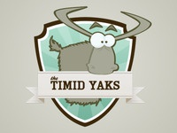 The Timid Yaks, My Fantasy Football Team Logo